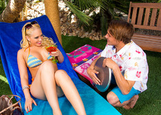 Kagney Linn Karter & Tyler Nixon in Naughty Rich Girls