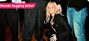 Blonde Dogging Debut ? Layla Pink