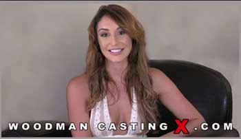 Hardcore porn audition for Christiana Cinn