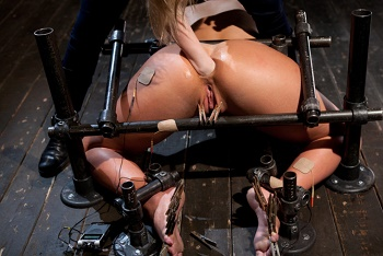 Bondage BDSM and Fetish Video on Demand - Sweet Kristina broken and fu
