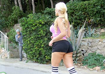 Blondie teamskeet teen