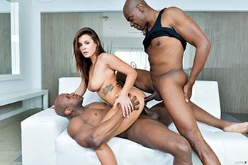 DarkX - Keisha Grey - double penetration