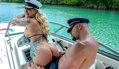 Doing Anal In A Wild Boat Ride ? Ryan Conner at Anal,Ass Parade,Bangbros