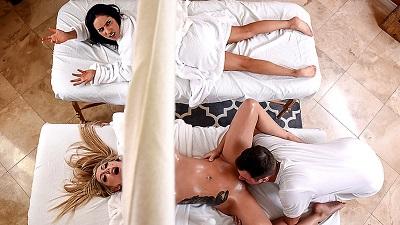Karma RX & Tia Cyrus - This Guy Works Wonders #Massage #Oiled